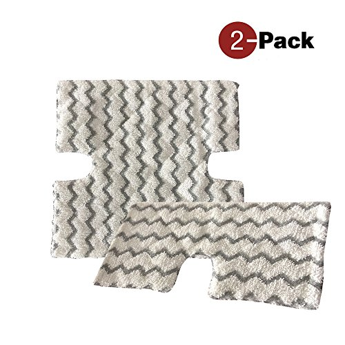 2 Pack Replacement Microfiber Cleaning Pads For Shark Lift